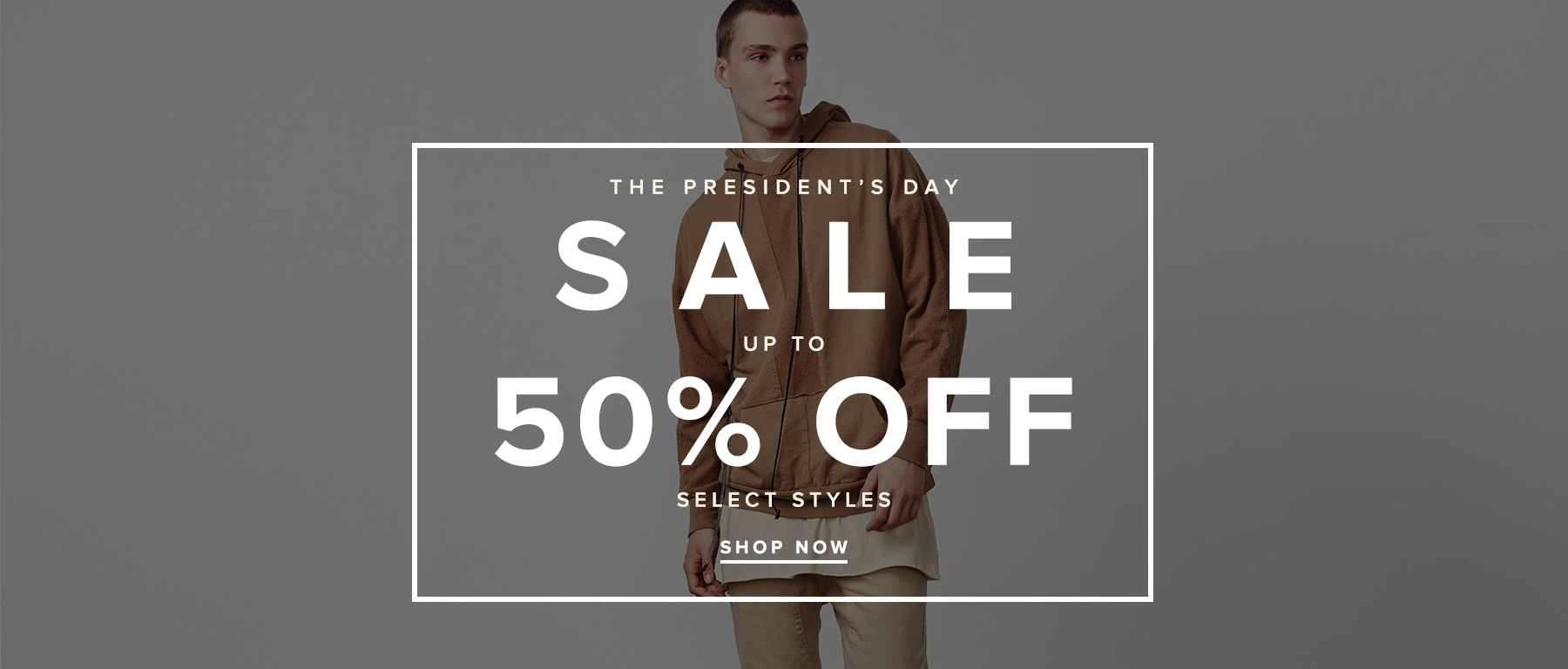 THE PRESIDENTS DAY SALE