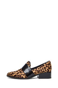 3.1 phillip lim Quinn Loafer in Brown,Animal Print - Forward by Elyse Walker