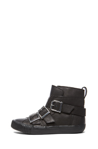 3.1 phillip lim Lyon Sneaker in Black - Forward by Elyse Walker