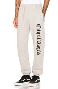 ADAPTATION CITY OF ANGELS SWEATPANTS IN GRAY