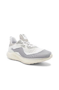 ADIDAS BY KOLOR KOLOR X ADIDAS ALPHA BOUNCE IN WHITE,GRAY