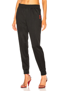 ADIDAS BY ALEXANDER WANG TRACK PANT IN BLACK