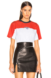 Adidas By Alexander Wang Photocopy Tee In White,Red