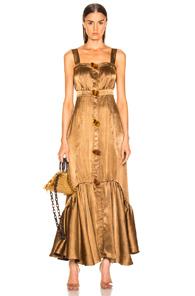 ATOIR Atoir Strung Up Dress In Metallic