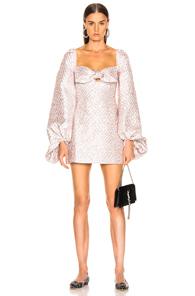 ATOIR Atoir Heavy Heart Dress In Abstract,Pink,White