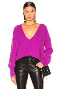Melanie Sweater in Purple