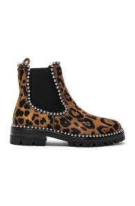 Printed Calf Hair Spencer Boots