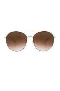 Barton Perreira Luna Sunglasses in Metallics