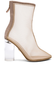 BROTHER VELLIES Mesh Bianca Boots in Neutrals. 6wDmZNrCSz
