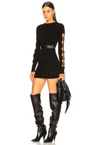 BEAU SOUCI CLAUDIA DRESS IN BLACK