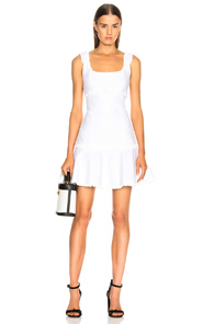 CINQ A SEPT ANA DRESS IN WHITE
