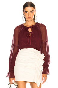 CINQ A SEPT ROMY TOP IN RED