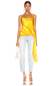 Cinq A Sept Solid Ryder Cami Top - Yellow
