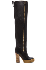 Chloe 40MM Over the Knee Boot in Black