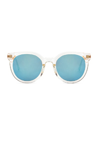 GENTLE MONSTER DIDIA SUNGLASSES IN WHITE