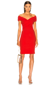 HANEY MORGAN DRESS IN RED
