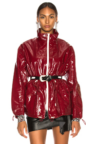 ISABEL MARANT ENZO JACKET IN RED
