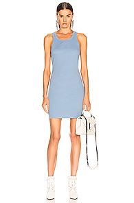 JOHN ELLIOTT | JOHN ELLIOTT Alma Rib Dress in Blue | Goxip