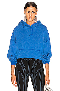 JOHN ELLIOTT | JOHN ELLIOTT Vintage Fleece Hoodie in Blue | Goxip