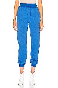 JOHN ELLIOTT | JOHN ELLIOTT Vintage Fleece Sweatpant in Blue | Goxip