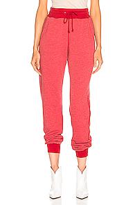 JOHN ELLIOTT | JOHN ELLIOTT Vintage Fleece Sweatpant in Red | Goxip