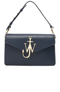 JW ANDERSON LOGO PURSE IN BLUE