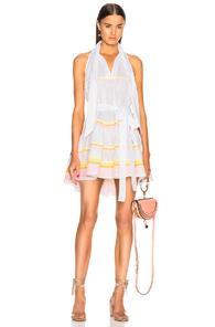 LISA MARIE FERNANDEZ AVA LILLY DRESS IN WHITE