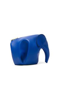 LOEWE ELEPHANT MINI BAG IN BLUE