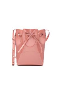 Mansur Gavriel Mini Bucket in Pink