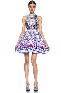 Mary Katrantzou Trinkolo Poly Dress in Floral,Purple