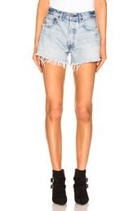 MOUSSY | Moussy Vintage Matthews Shorts in Denim Light | Goxip