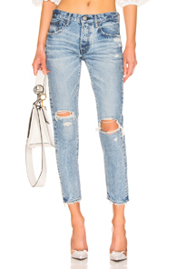 MOUSSY | Moussy Vintage Lawton Tapered in Denim Light | Goxip