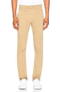 NUDIE JEANS SLIM ADAM PANT IN NEUTRALS