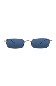 OLIVER PEOPLES DAVEIGH SUNGLASSES IN METALLICS