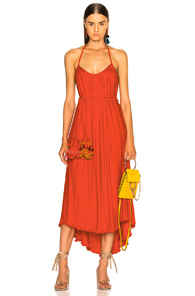 RACHEL COMEY SAMBUCA DRESS IN ORANGE