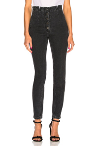 RACHEL COMEY DOCK PANT IN BLACK