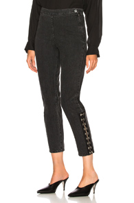 RACHEL COMEY HOOK PANT IN BLACK