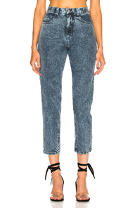 RACHEL COMEY FIGURE PANT IN BLUE