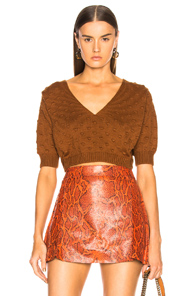 RACHEL COMEY ODE SWEATER IN BROWN