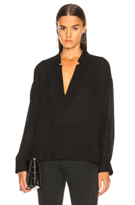 RACHEL COMEY DUNE TOP IN BLACK