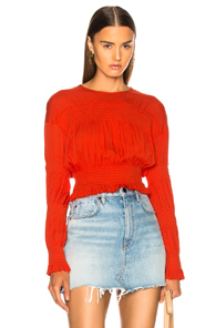 RACHEL COMEY PENTA TOP IN RED