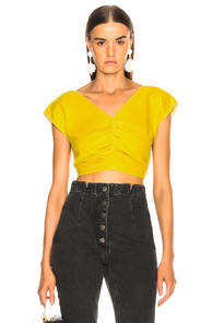 RACHEL COMEY PIER TOP IN YELLOW