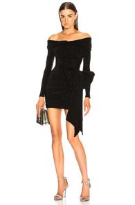 REDEMPTION off the shoulder short dress