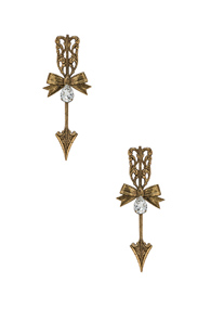 RODARTE Bow and arrow earrings