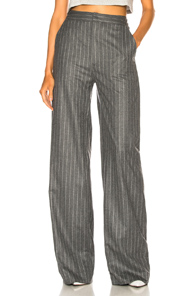 SABLYN OLIVIA WIDE LEG PANTS IN GRAY,STRIPES