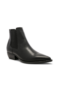 Black Pointy Chelsea Boots