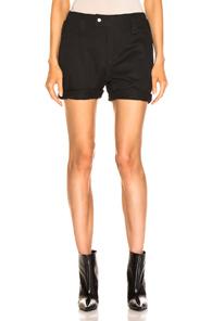 Saint Laurent Pocket Bermuda Shorts in Black