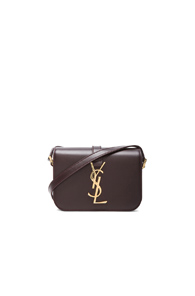 Saint Laurent Small Monogramme Universite Bag in Purple