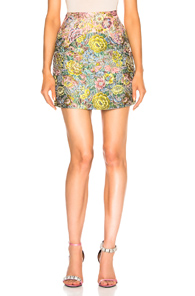 SANDY LIANG CHATHAM SKIRT IN FLORAL,PINK,BLUE