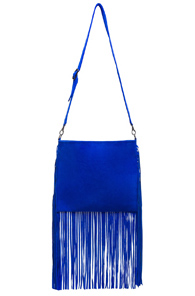ThePerfext Blair Crossbody Bag in Blue